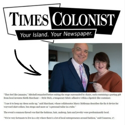 Times Colonist Style Stick Feature 2017