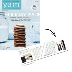 Yam Magazine Style Stick Holiday Feature